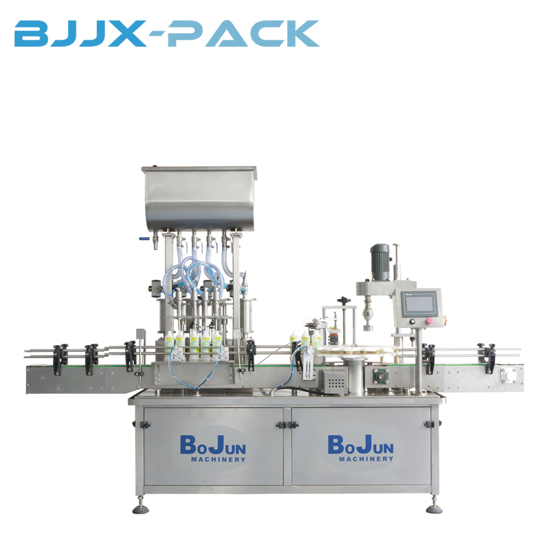 BGX-4-1D Pump Filling & Capping Machine Featured Image