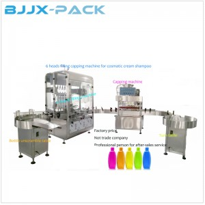 Automatic Liquid Filling Capping Packaging Production Line