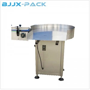 Stainless steel 304 Automatic bottle collector turntable