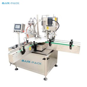 BGX-1-2D Automatic Rotary Vial filling and capping machine