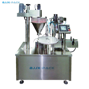 Automatic Vial Powder Filling Capping machine