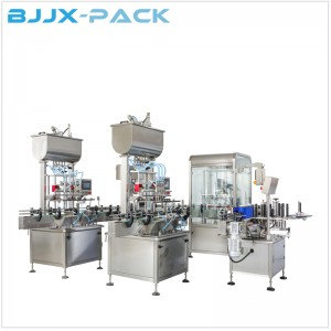 BG-IN Juice filling capping labeing line