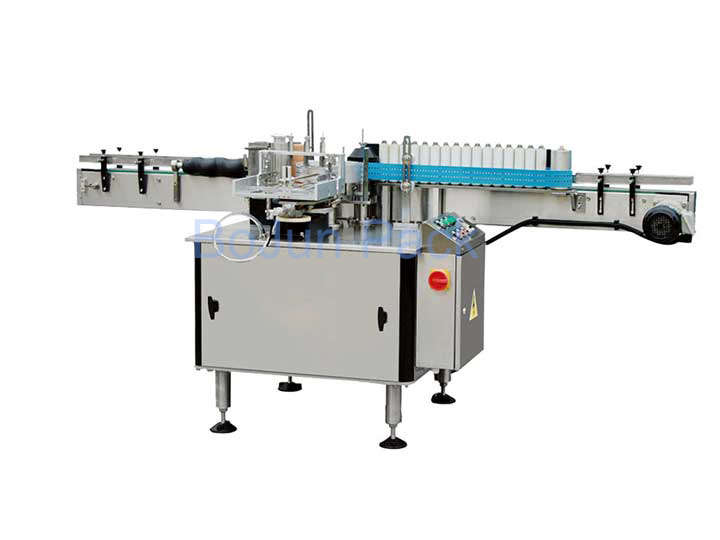 Labeling machine use to ensure reliable connection with the production line