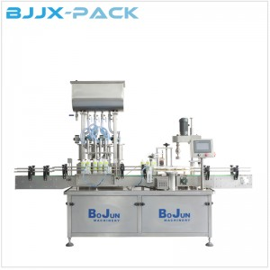 75% Alcohol Hand Sanitizer filling and capping machine