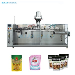 Horizontal Standup Pouch Form Fill Seal Machine