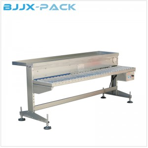BZT-C In line Working Table for detergent filling line