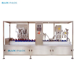 Rotary Cosmetic Filling Machine
