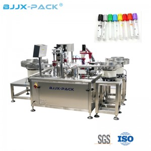 New Design Fully Automatic IVD Reagent Filling Machine Test Tube Filling Capping Machine