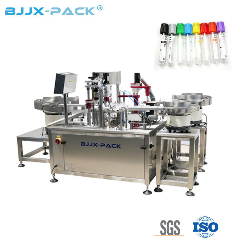 New Design Fully Automatic IVD Reagent Filling Machine Test Tube Filling Capping Machine Featured Image